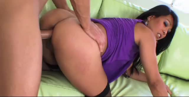 Milf in stockings doggy anal