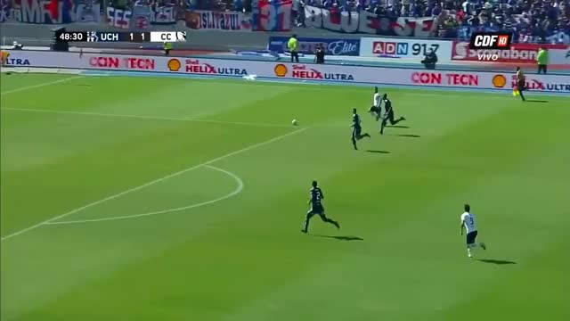 Watch and share GOL Esteban Paredes U. De Chile 1-2 Colo Colo L Camp. Scotiabank 2018 GIFs on Gfycat