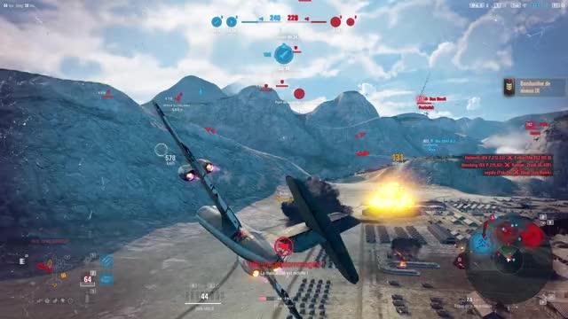 Watch and share World Of Warplanes 2.1.0.3.454599 12 10 2019 14 16 09 GIFs on Gfycat