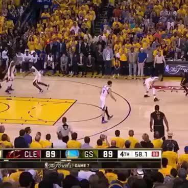 Watch and share Kyrie Irving Clutch Shot NBA Finals GIFs on Gfycat