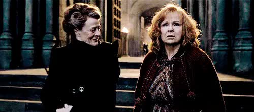 Watch and share Deathly Hallows GIFs and Maggie Smith GIFs on Gfycat