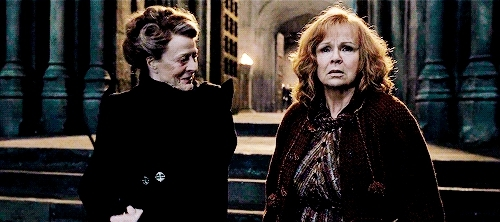 Maggie Smith, deathly hallows, harry potter, hpedit, hpgif, columbus; GIFs