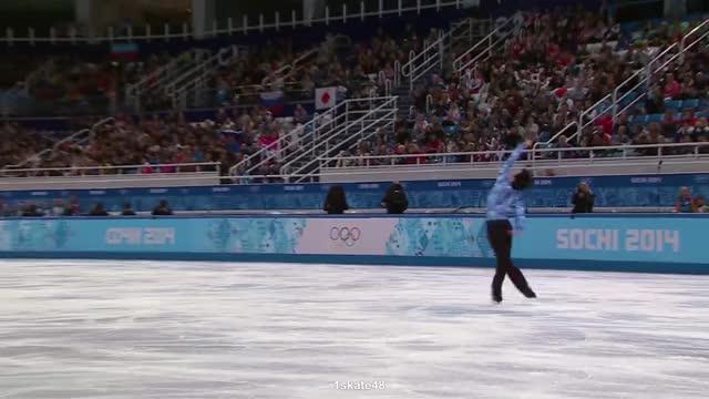 Watch and share Figure Skating 2014 GIFs and Yuzuru Hanyu 2014 GIFs by Irina Niculiu on Gfycat