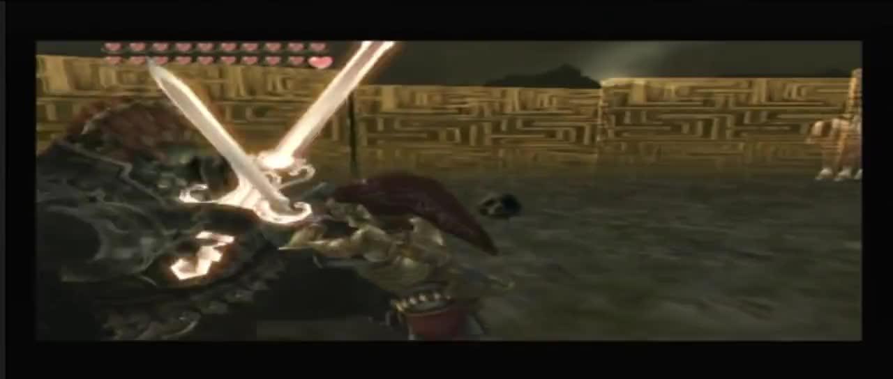 Zelda Twilight Princess Link Vs Ganondorf Dark Lord Ganondorf Swordfight