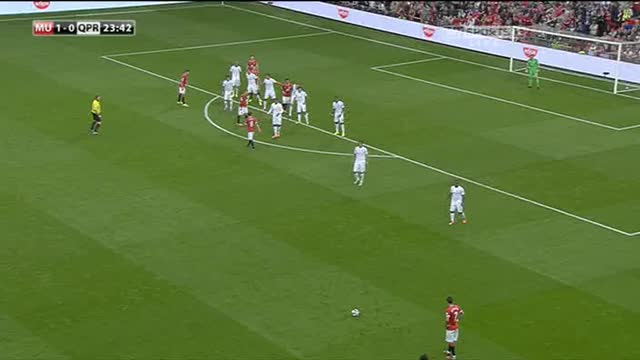 Watch and share Di Maria's First Goal For United GIFs on Gfycat