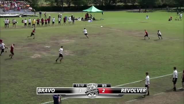 Watch and share WUCC 2014 | Denver Johnny Bravo Vs San Francisco Revolver (Open Semifinal) GIFs by push_pass on Gfycat