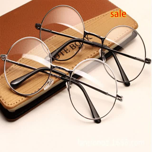 Watch and share Women Vintage Glasses Frame Plain Mirror GIFs on Gfycat
