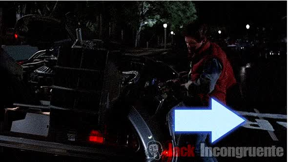 Watch and share Back To The Future 2 animated stickers on Gfycat
