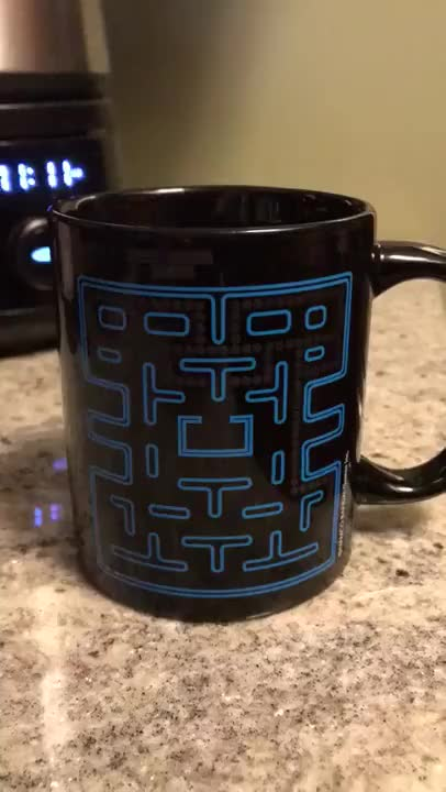 Watch and share Pac-Man Mug GIFs by The Livery of GIFs on Gfycat