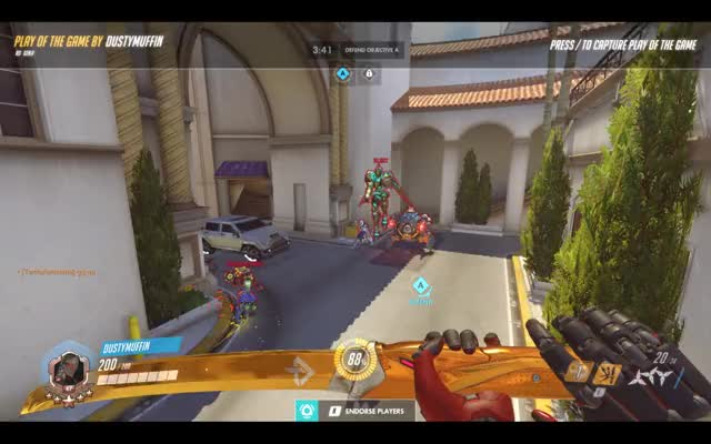 Watch and share Overwatch GIFs and Potg GIFs by Dusty Muffin on Gfycat