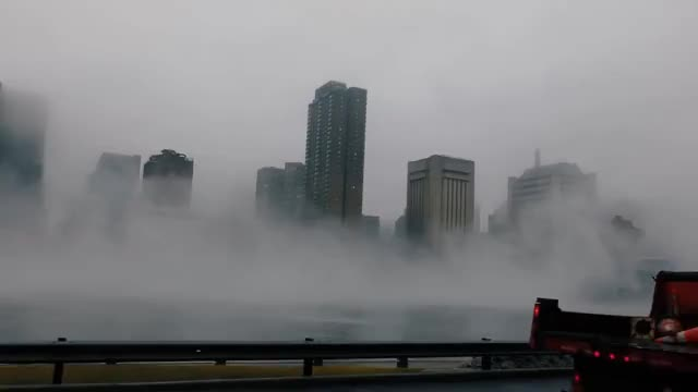Watch nyc foggy GIF on Gfycat. Discover more Enjoying, Over, Polska, River, Shops, Times, York, east, emigracji, fog, foggy, hd, neistat, polacy, rain, square, streets, ultra, umbrella, walkthrough GIFs on Gfycat