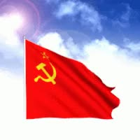 Watch and share Communism Flag GIFs on Gfycat