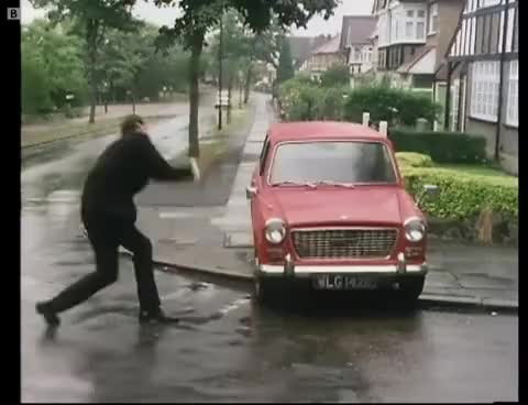 Watch and share Damn Good Thrashing GIFs and Fawlty Towers GIFs on Gfycat