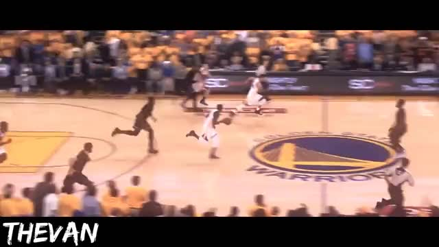 704ff7fa9ece Watch LeBron James  Historic Block on Andre Iguodala GIF on Gfycat.  Discover more Cleveland