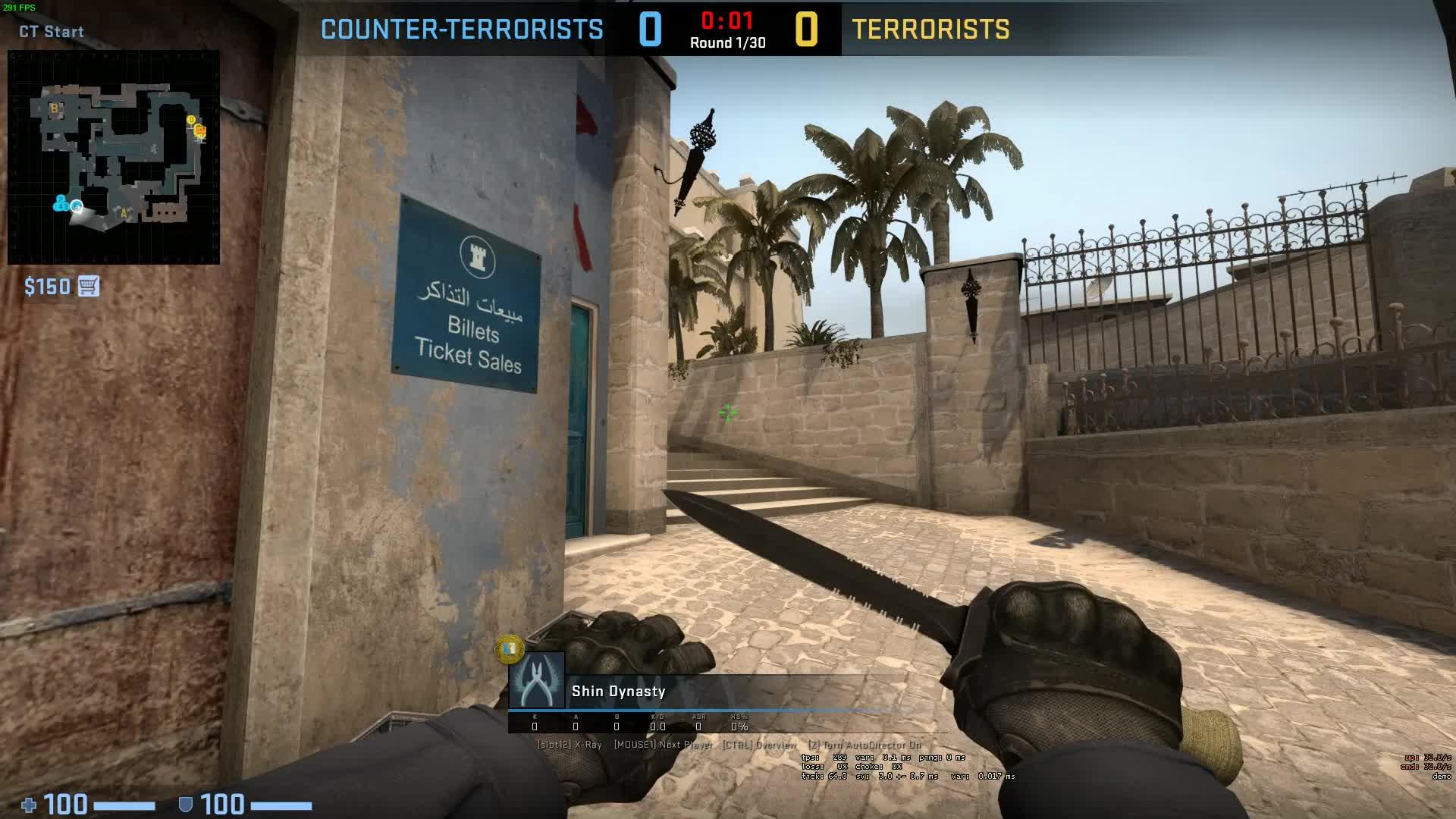 CS:GO, GlobalOffensive, csgo, Pistol Ace - Mirage GIFs