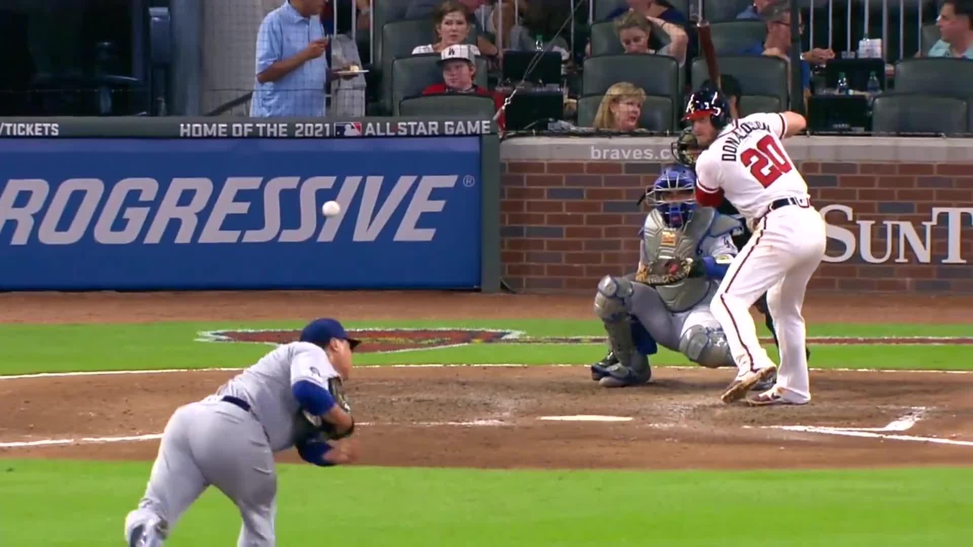 Josh Donaldson Admires His Home Run Gif By Handlit33 Gfycat