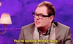 *, Alan Carr, Alan Carr Chatty Man, Gillian Anderson, she has turned me, stargate barbie GIFs
