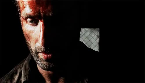 Watch Deadly as Dillinger. Kapow! GIF on Gfycat. Discover more *mine, *rick grimes, 3x02, [i had no reason to make this], church of rick grimes, my gifs, rick grimes, the walking dead, twd gifs GIFs on Gfycat