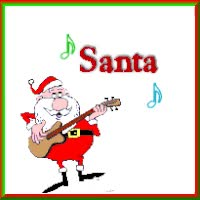 Watch and share Carol Christmas Santa Claus Is Coming To Town Song Singing Cute Merry Christmas Xmas Icon Icons Emoticon Emoticons Animated Animation Animat animated stickers on Gfycat