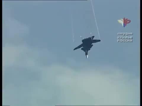 Watch and share Su-47 Berkut #2 GIFs by Movie & Military GFYS  on Gfycat