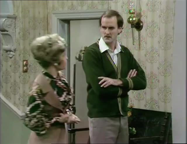 Watch and share Fawlty Towers GIFs and John Cleese GIFs by MikeyMo on Gfycat