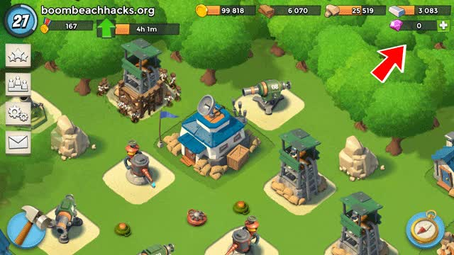 Watch and share Level 17 With 14.000 Diamonds  Boom Beach Hack GIFs on Gfycat