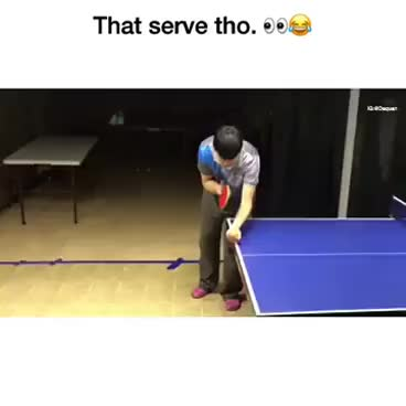 Watch and share Ping Pong Ball Served Extremely Smart,  Send Nudes GIFs on Gfycat
