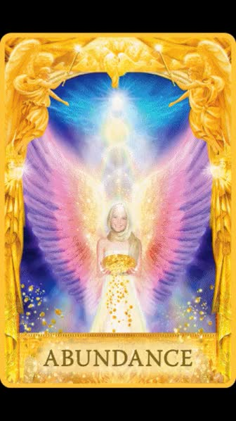Watch and share Angel Answers Oracle Cards - Doreen Virtue GIFs by martix0927 on Gfycat