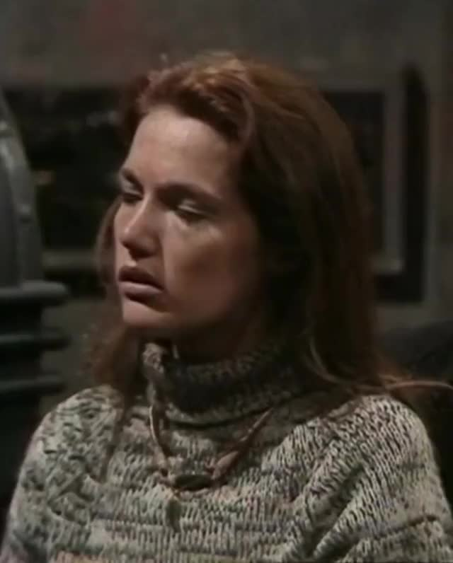 Watch and share Pursed Expression GIFs and Louise Jameson GIFs by ninjyte on Gfycat