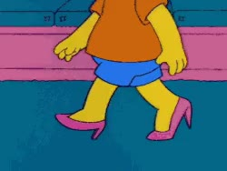 Watch and share Gif LOL Funny Heels Weird Humor Simpsons Bart Bart Simpson GIFs on Gfycat