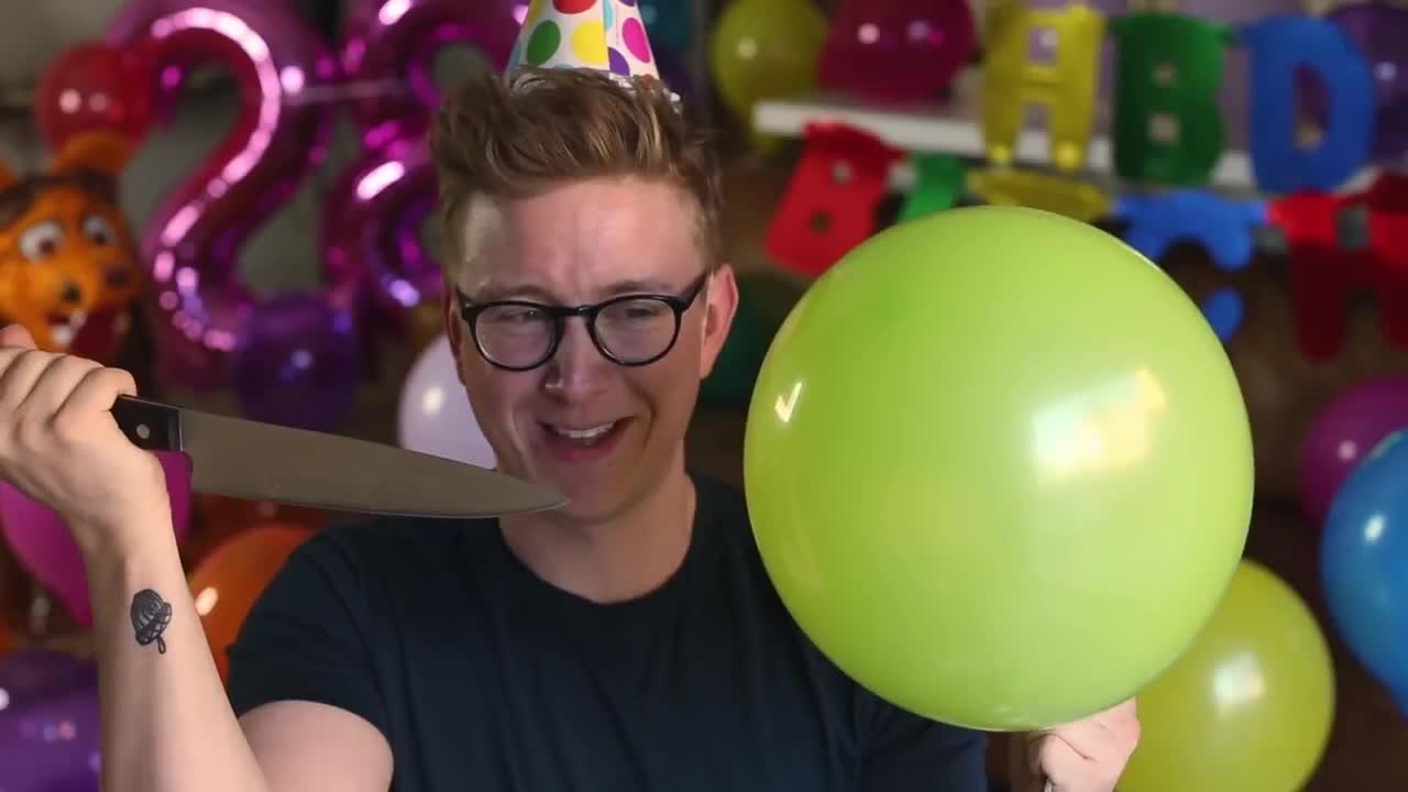 balloon-pop-roulette-tyler-oakley, happy, happy birthday,  GIFs