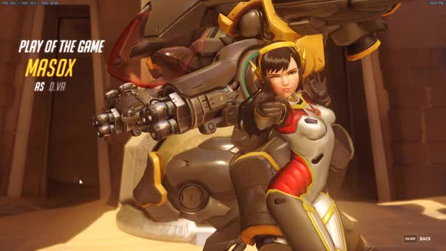 Watch and share Overwatch GIFs by masoxo on Gfycat