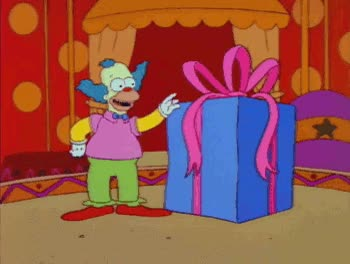 Watch and share Krusty The Clown GIFs on Gfycat