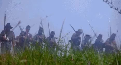 Watch Confederate Line Decimated By Cannon Fire GIF by @nurdbot on Gfycat. Discover more related GIFs on Gfycat