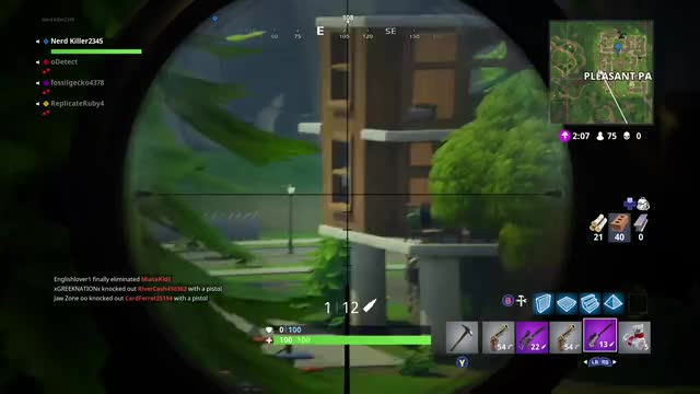 Watch Fortnite snipe  GIF by Gamer DVR (@xboxdvr) on Gfycat. Discover more FortniteBattleRoyale, Nerd Killer2345, xbox, xbox dvr, xbox one GIFs on Gfycat