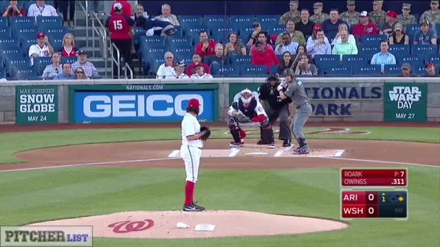 Watch Tanner Roark SL 2017 GIF on Gfycat. Discover more related GIFs on Gfycat