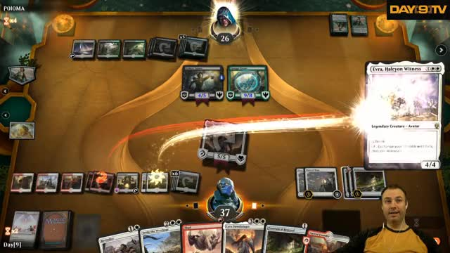 Watch MTG Arena - Monday Madness - Boros Thud Jank P1 GIF on Gfycat. Discover more Day9, Day9tv, Day[9], Sean Plott, card game, card games, games, mtg, mtga, twitch GIFs on Gfycat