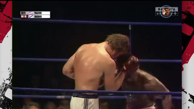 Watch Joe Frazier's left hook meets Joe Bugner's face. GIF by @prsouthern on Gfycat. Discover more boxing, joe bugner, joe frazier, joe frazier vs. joe bugner, knockdown, left hook, power, power punch, punch, smoke, smokin' joe frazier GIFs on Gfycat