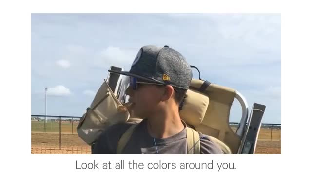Watch Experiencing EnChroma Glasses for the First Time GIF on Gfycat. Discover more colorblind, colorblindness, colourblindness, cvd, daltanismo, daultanism, enchroma GIFs on Gfycat
