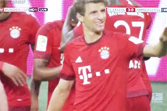 Watch and share Fc Bayern München GIFs and Thomas Müller GIFs on Gfycat