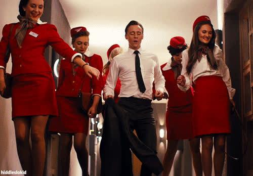 celeb_gifs, dancing, loki, tom hiddleston, tomhiddleston, Tom Hiddleston GIFs