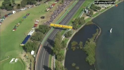 formula1gifs, Raikkonen overtakes Carlos Sainz - Australia 2015. (reddit) GIFs