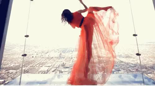 Watch and share Ballerina GIFs and Cityscape GIFs on Gfycat