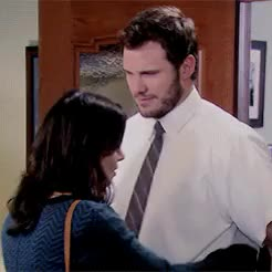Watch this chris pratt GIF on Gfycat. Discover more Andy Dwyer, Chris Pratt, andy dwyer, april ludgate, aubrey plaza, chris pratt, parks and recreation GIFs on Gfycat