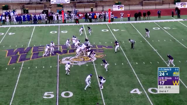 Watch and share Western Illinois Vs GIFs and South Dakota State GIFs by sherder on Gfycat