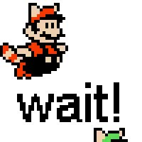 Watch and share Mario And Luigi- Wait! GIFs on Gfycat