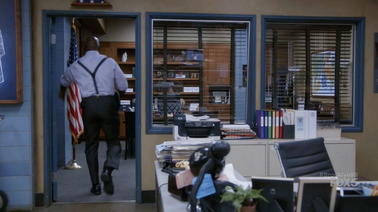 brooklynninenine, Room destroyed GIFs