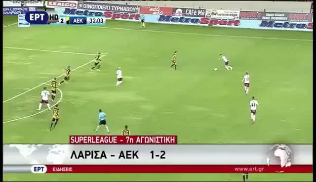 7η ΑΕΛ-ΑΕΚ 1-2  2016-17 ΕΡΤ