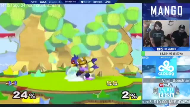 Nobody else plays Falco like Mang0