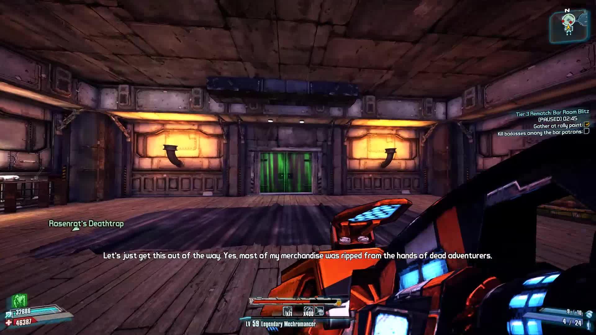 Borderlands 2 | Shamfleeting Gaige